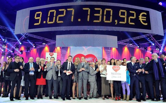 Télévie: record battu, merci!