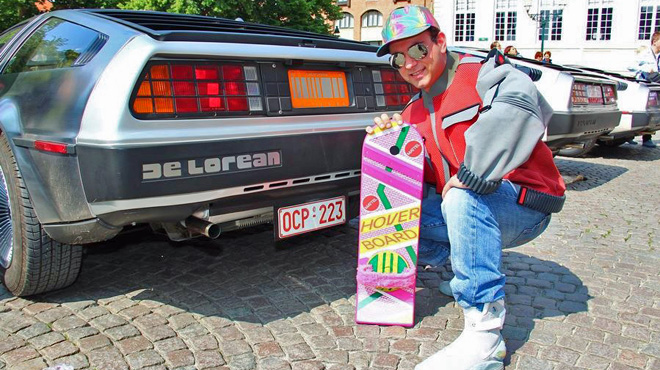 Voici le Marty McFly belge: