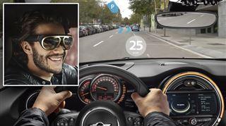 Mini a dévoilé d'étranges lunettes de réalité augmentée- à quoi serviront-elles sur la route ?
