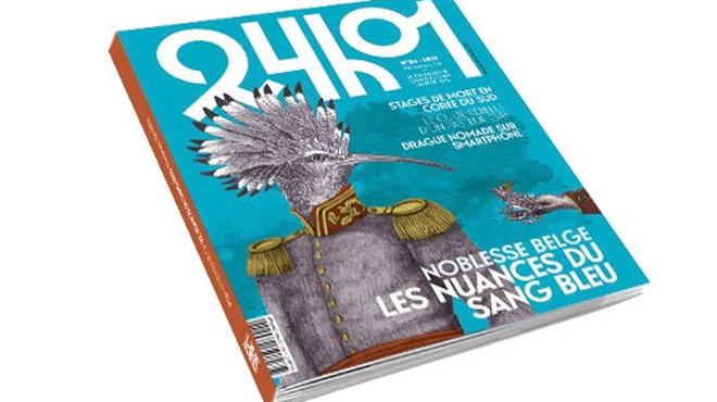 Le 4e numéro du magazine belge 24h01 est sorti