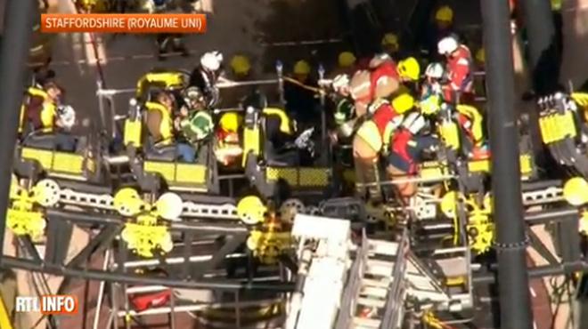Quatre ados grièvement blessés dans une collision entre deux wagons d'une attraction