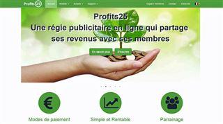 Profits 25 s'étend en Belgique- évitez ce nouveau système pyramidal déguisé