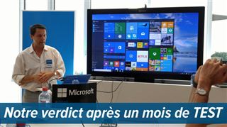Windows 10 est disponible gratuitement depuis ce mercredi- faut-il l'installer ?
