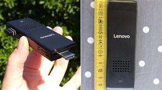 Nous avons testé le plus petit PC du monde- il a la taille d'une grosse clé USB et se branche sur un écran ou une TV