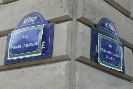 Place aux femmes à Paris! Des féministes rebaptisent des rues de la capitale