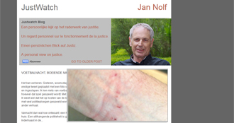 Le juge de paix honoraire Jan Nolf interpellé après un match de foot: il se retrouve menotté dans le même combi que les hooligans!