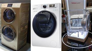 Double hublot, lucarne, suspension- ces machines à laver complètement folles arrivent bientôt en Belgique