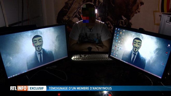 Témoignage exclusif d'un membre d'Anonymous Belgique:
