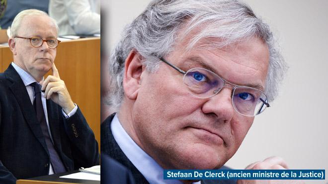 Affaire politico-juridico-financière Kazakghate (le bourgmestre d'Uccle Armand De Decker suspecté): l'ancien ministre Stefaan De Clerck entendu