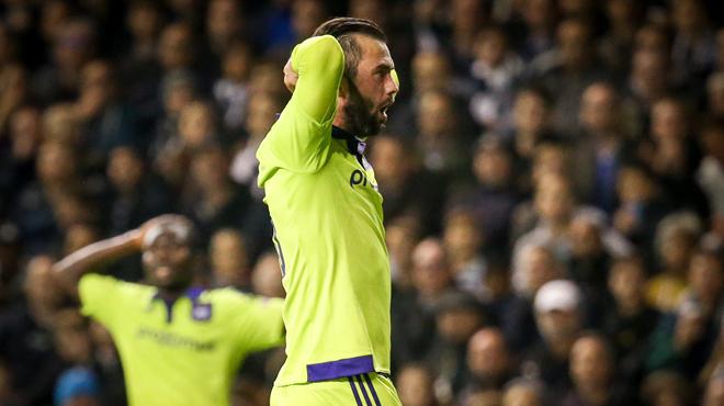 Europa League: Anderlecht mal payé à Tottenham