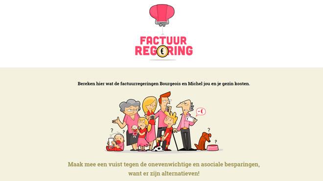 La FGTB flamande choisit un nouveau mode d'action: un site internet pour calculer l'impact du tax shift