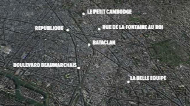 Attentats de Paris: voici le film des événements, minute par minute