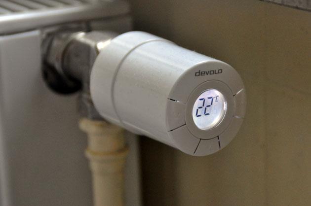 La maison connect e est disponible en magasin nous avons essay tous les objets du home control - Vanne thermostatique connectee ...