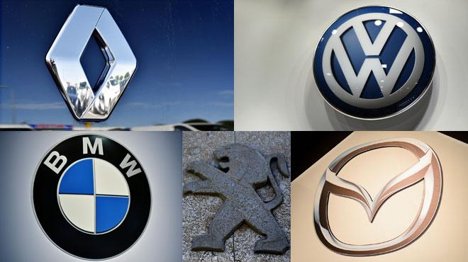 Voici les marques de voiture les plus achetées par les Belges l'an dernier: