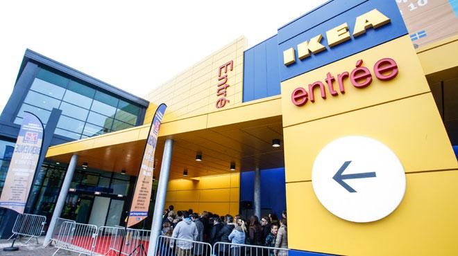 Le magasin Ikea de Mons évacué d'urgence: