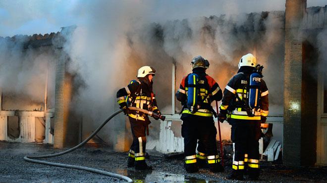 Houtaing: l'hospice Saint-Clément détruit par les flammes