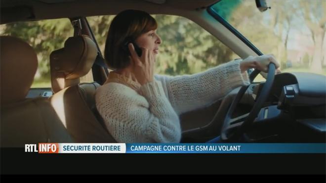 37% des Belges utilisent leur GSM au volant: découvrez le film CHOC lancé par une association de parents d'enfants victimes de la route