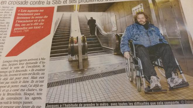 Un handicapé coincé plusieurs heures dans le métro: