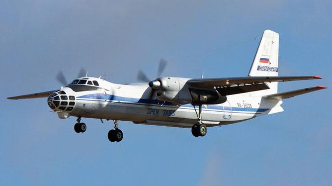 Un avion russe Antonov An-30 survole la Belgique pour scruter nos installations militaires