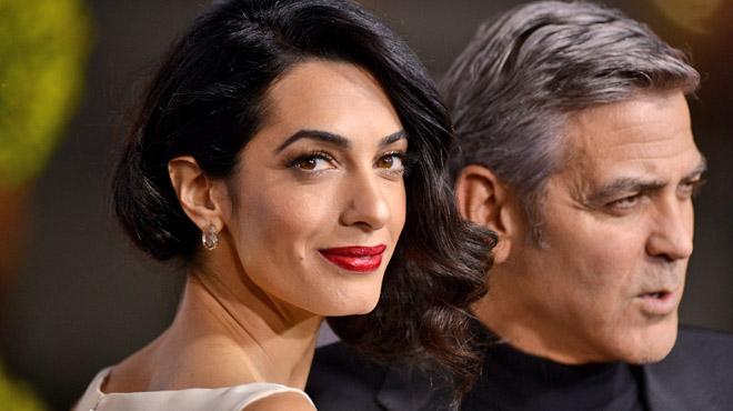 Amal Clooney en danger de mort? Elle a été placée sous très haute protection...