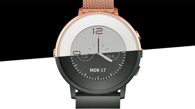 pebble s 39 embourgeoise son tour sa smartwatch time round ressemble enfin une belle. Black Bedroom Furniture Sets. Home Design Ideas