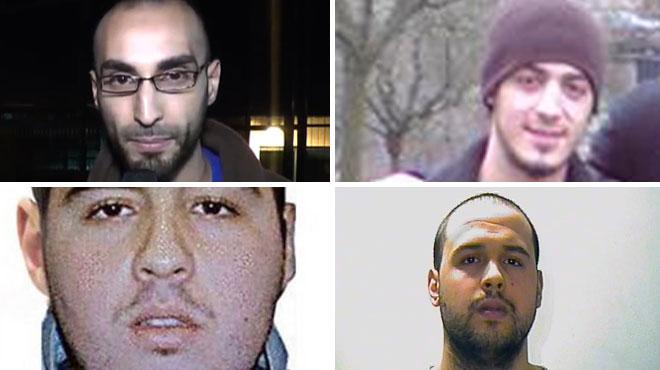 Attentats à Bruxelles: qui sont les kamikazes et leurs complices présumés?