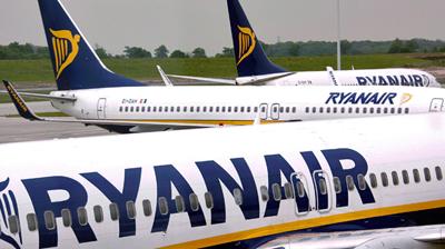 Tous les vols Ryanair prévus à Bruxelles sont transférés à Charleroi