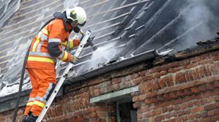 Lessines: une habitation détruite par le feu