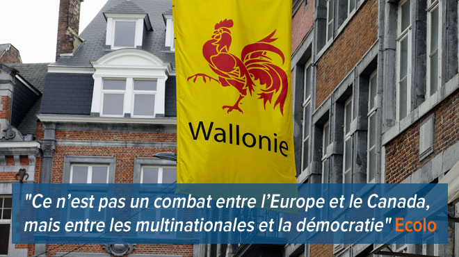 JAMAIS VU en Belgique: la Wallonie n'accorde pas les pleins pouvoirs à l'Etat belge pour signer un traité transatlantique, la Flandre hurle