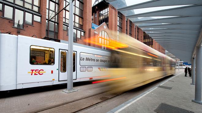 Le chantier du métro de Charleroi à l'abandon? Une liaison pose question