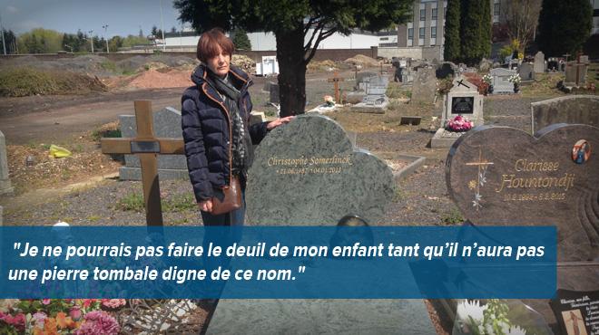 Les pierres tombales venues de Chine prospèrent dans les cimetières belges:
