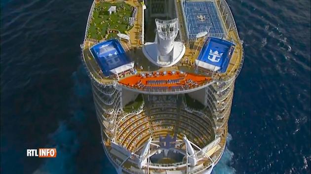 Voici l 39 harmony of the seas d couvrez en vid o le plus - Quel est le plus grand port d afrique ...