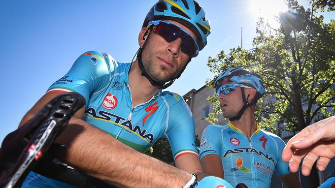 Nibali orphelin de son équipier Agnoli sur le Giro: l'Italien souffre trop de ses blessures