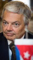 Didier Reynders aborde la dette et les droits de l'homme à Cuba