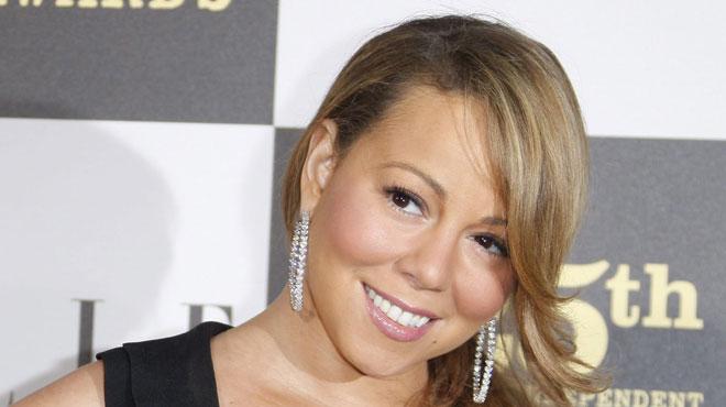 Mariah carey en porte jarretelles gu pi re et bas r sille pour une sortie en bo te photos - Salopes en porte jarretelles ...