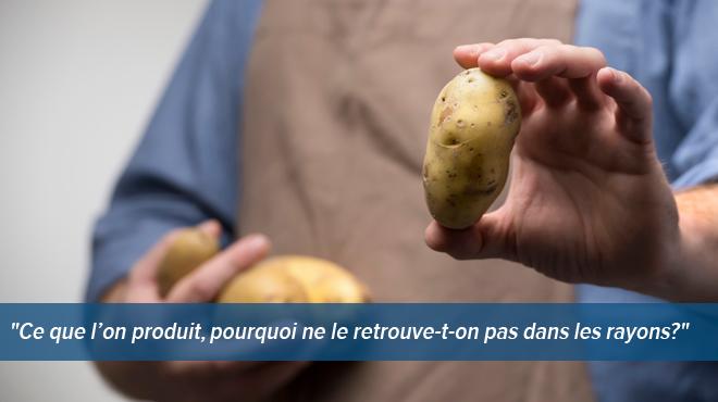 elle veut acheter des pommes de terre belges au supermarch mais ne trouve que des importations. Black Bedroom Furniture Sets. Home Design Ideas