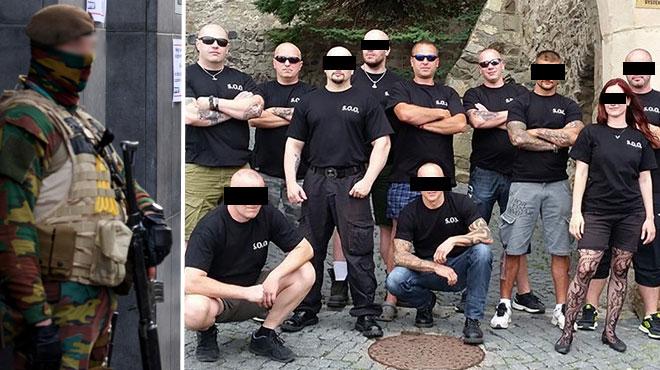 Des militaires belges vont devoir se justifier: ils appartiennent à des groupes d'extrême-droite particulièrement actifs à Anvers