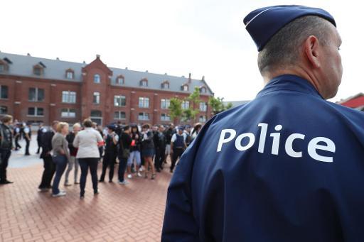 La police de Charleroi choquée: