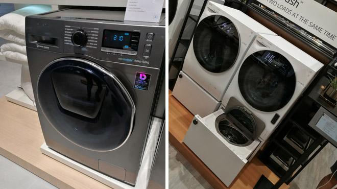 ces deux machines laver g niales sont bient t disponibles en belgique mais qu 39 ont elles de si. Black Bedroom Furniture Sets. Home Design Ideas