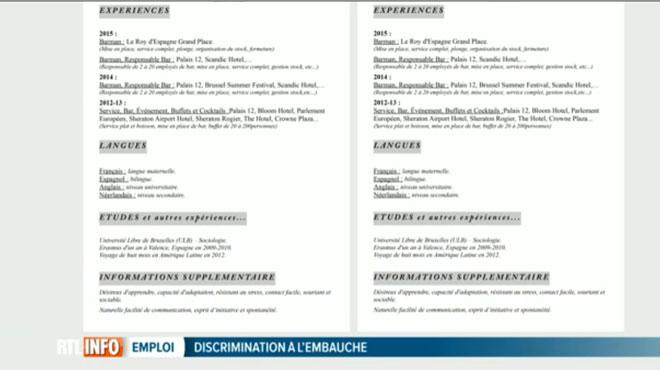 discrimination  u00e0 l u0026 39 embauche dans un grand h u00f4tel bruxellois