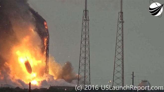 Explosion de la fusée SpaceX: quelle était cette tache blanche sur le toit d'un immeuble situé près du pas de tir?