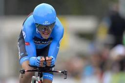 Le cycliste américain Tom Danielson suspendu 4 ans pour dopage