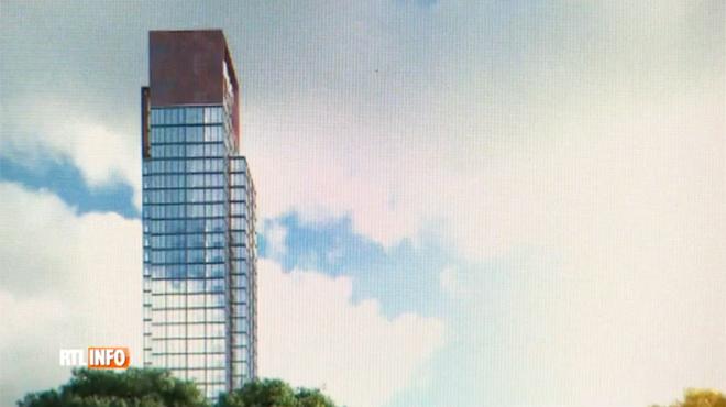 A wavre une tour de 120 m tres de haut pourrait bient t for Appart hotel wavre