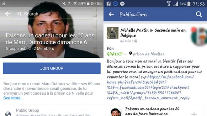Un profil Facebook au nom de Michelle Martin provoque l'indignation: