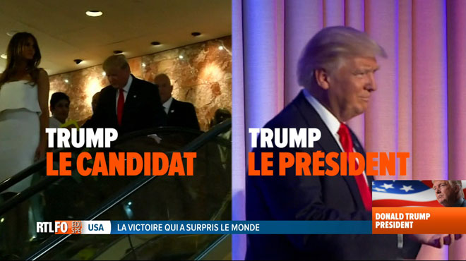 Voici comment la communication de Donald Trump a changé en une nuit