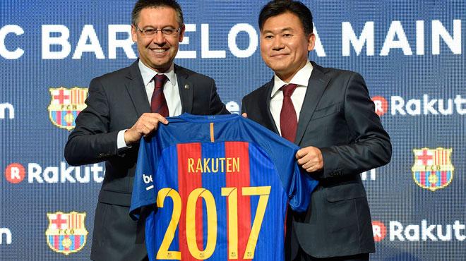 Le Barça change de sponsor pour un montant astronomique