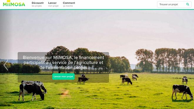 Une nouvelle plateforme de crowdfunding très spécial a vu la jour en Belgique: voici MiiMOSA