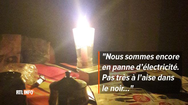 Des habitants de Mons et du Borinage à nouveau dans le noir: les réparations avancent