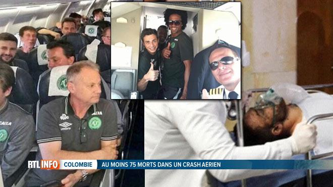 Crash de l'avion transportant les finalistes de la Coupe sud-américaine de foot: 75 morts et 6 survivants