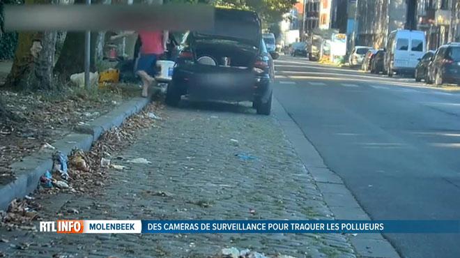 Bientôt la fin des dépôts clandestins à Molenbeek? Des dizaines de caméras fixes ou mobiles traquent les pollueurs